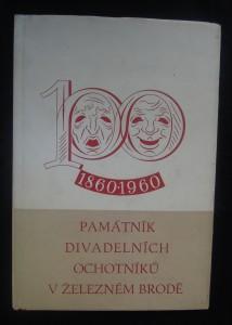 náhled knihy - Památník divadelních ochotníků v Železném Brodě