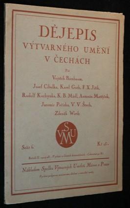 náhled knihy - Dějepis výtvarného umění v Čechách, ročník 2. 1924-28
