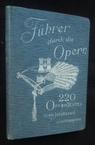 náhled knihy - Fuhrer durch die Opern
