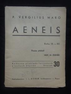 náhled knihy - Aeneis: kniha IX - XII