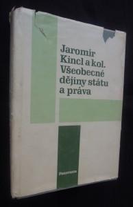 náhled knihy - Všeobecné dějiny státu a práva