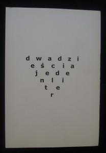 náhled knihy - Dwadzieścia jeden liter