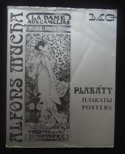 náhled knihy - Alfons Mucha : plakáty (souborný katalog)