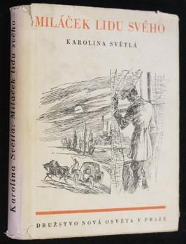 náhled knihy - Miláček lidu svého : román