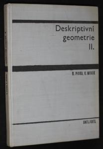 náhled knihy - Deskriptivní geometrie II.