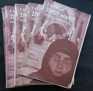 antikvární kniha Život Marie, matky Ježíšovy (sešit 2.-11. a 14.-16.), 1936-1937
