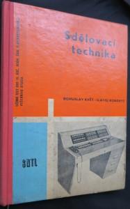 náhled knihy - Sdělovací technika : Učební text pro 3. roč. průmyslových škol elektrotechnických večerního studia