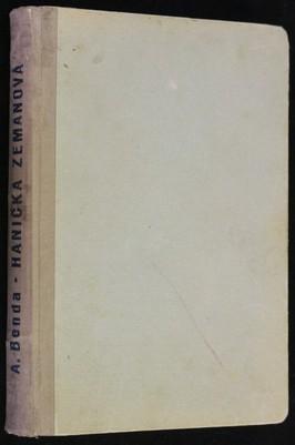 náhled knihy - Hanička Zemanová : příběh děvčátka
