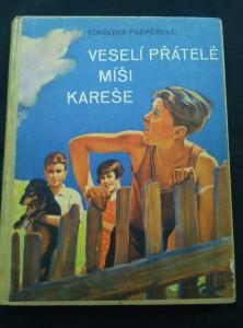 náhled knihy - Veselí přátelé Míši Kareše (Oppl., 201 s., il. O. Marcín)