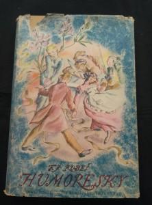 náhled knihy - Humoresky - výbor z díla (A4, Oppl, 226 s., ob a il. V. Mužíková-Šetková, přeml. F. Sekanina, dosl. F. Oberpfalcer)