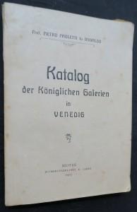 náhled knihy - Katalog der Königlichen Galerien in Venedig