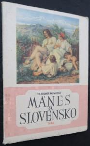 náhled knihy - Mánes a Slovensko