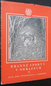 náhled knihy - Branné sporty v obrazech VI.
