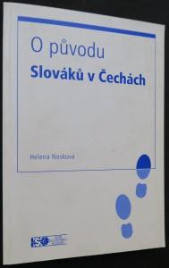 náhled knihy - O původu Slováků v Čechách (včetně věnování a autogramu autorky)