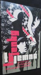 náhled knihy - Tajemné tajenky : Detektivky s křížovkami, hádankami a luštění