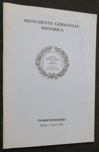 náhled knihy - Monumenta Germaniae Historica