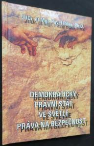 náhled knihy - Demokratický právní stát ve světle práva na bezpečnost