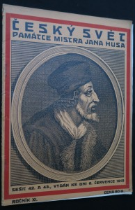 náhled knihy - Český svět: Památce mistra Jana Husa, číslo 42. a 43., ročník XI.