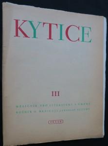 náhled knihy - Kytice III (měsíčník pro literaturu a umění), ročník II, rediguje Jaroslav Seifert