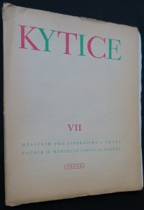 náhled knihy - Kytice VII (měsíčník pro literaturu a umění), ročník II, rediguje Jaroslav Seifert