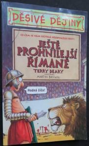 náhled knihy - Ještě prohnilejší Římané (Děsivé dějiny)