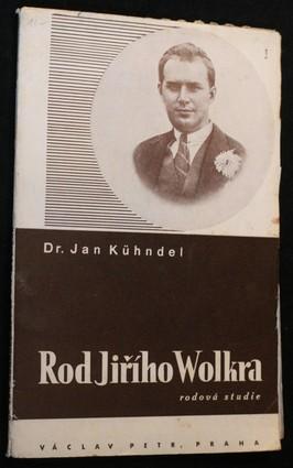 náhled knihy - Rod Jiřího Wolkera : genealogická studie