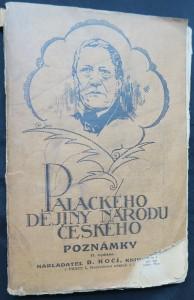 náhled knihy - Dějiny národu českého v Čechách a v Moravě: Poznámky