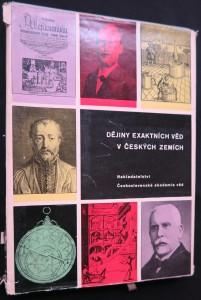 náhled knihy - Dějiny exaktních věd v českých zemích do konce 19. století