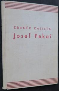 náhled knihy - Josef Pekař (Drahou života, V pracovně badatelově)