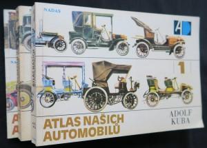 náhled knihy - Atlas našich automobilů (díl 1, 2, 3)