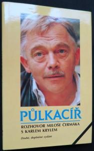 náhled knihy - Půlkacíř : (rozhovor Miloše Čermáka s Karlem Krylem