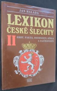 náhled knihy - Lexikon české šlechty : erby, fakta, osobnosti, sídla a zajímavosti. Díl 2