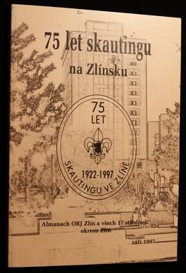 náhled knihy - 75 let skautingu na Zlínsku
