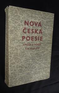 náhled knihy - Nová česká poesie (výbor z veršů XX. století)