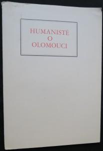 náhled knihy - Humanisté o Olomouci (včetně vložené rytiny umělce Cyrila Boudy)