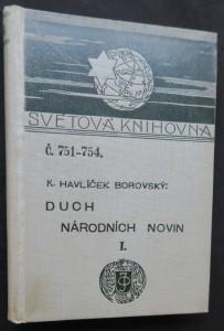 náhled knihy - Duch Národních Novin I, (Duben 1848 - 29. května 1849)