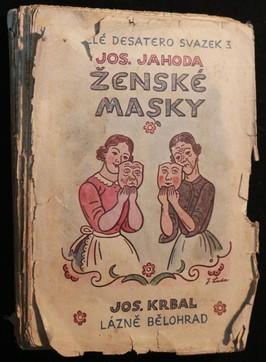 náhled knihy - Ženské masky : humoresky