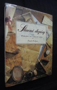 náhled knihy - Slavné dopisy aneb pohledy do zákulisí dějin