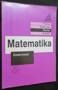 náhled knihy - Matematika : Úměrnosti