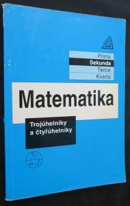 náhled knihy - Matematika : trojúhelníky a čtyřúhelníky