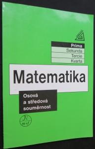 náhled knihy - Matematika : Osová a středová souměrnost
