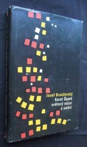 náhled knihy - Karel Čapek, světový názor a umění