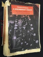 náhled knihy - Československo a Norimberský proces: hlavní dokumenty norimberského procesu o zločinech nacistů proti Československu)
