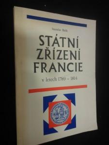 náhled knihy - Státní zřízení Francie v letech 1789 - 1814