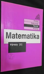 náhled knihy - Matematika : Výrazy 2