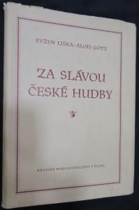 náhled knihy - Za slávou české hudby