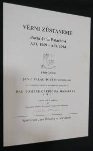 náhled knihy - Věrni zůstaneme: Pocta Janu Palachovi