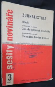 náhled knihy - Sešity novináře: základy rozhlasové žurnalistiky (číslo 3, ročník I.)