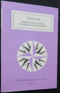 náhled knihy - Tribunová sútra Šestého patriarchy