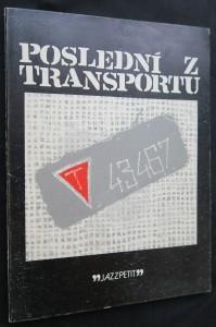 náhled knihy - Poslední z transportu (Jazzpetit č. 16)